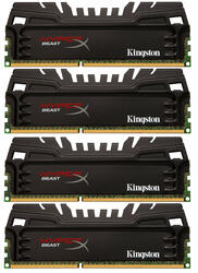 Оперативная память Kingston HyperX Beast [HX318C9T3K4/16] 16 Гб
