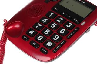 Телефон проводной teXet TX-260