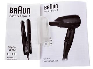 Фен Braun HD 130 + выпрямитель для волос Braun ST100