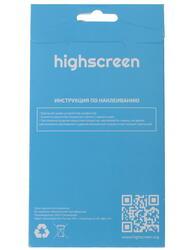 """4.5""""  Пленка защитная для смартфона Highscreen Power Four"""