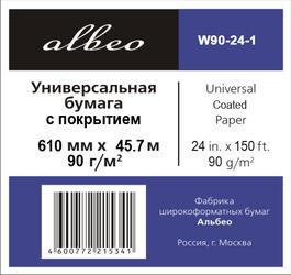 Бумага для широкоформатной печати ALBEO W90-24-1