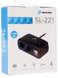 Разветвитель автоприкуривателя Neoline SL-221