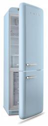 Холодильник с морозильником Smeg FAB32LAZN1 синий