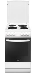 Электрическая плита Hansa FCEW54140 белый, черный