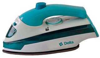 Утюг DELTA DL-418Т голубой