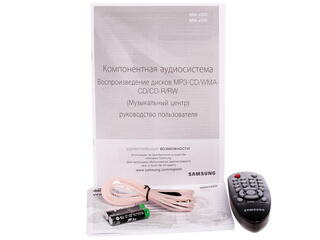 Микросистема Samsung MM-J330