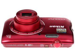 Компактная камера Nikon Coolpix A300 красный