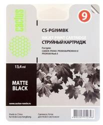 Картридж струйный Cactus CS-PGI9MBK