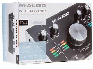 Внешняя звуковая карта M-Audio Track 2X2