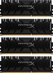 Оперативная память Kingston HyperX Predator [HX318C9PB3K4/32] 32 ГБ