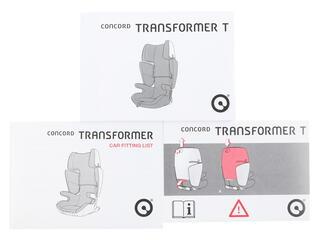 Детское автокресло Concord Transformer T серый