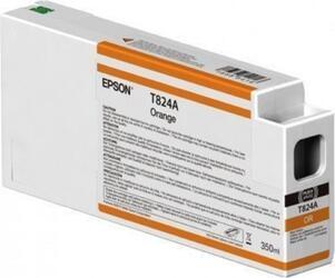Картридж Epson T824A повышенной емкости для SureColor SC-P7000/P7000V/P9000/P9000V (Оранжевый)