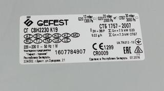 Газовая варочная поверхность Gefest СВН 2230 К19