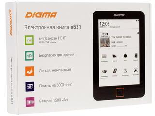 6'' Электронная книга Digma E631 белый