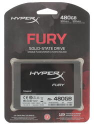 480 ГБ SSD-накопитель Kingston HyperX FURY [SHFS37A/480G]