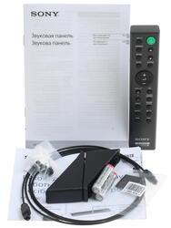 Звуковая панель Sony HT-CT390 черный