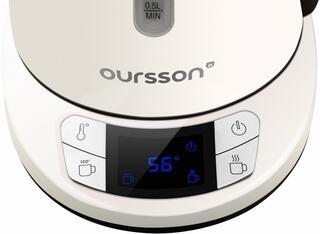 Электрочайник Oursson EK1775MD/IV белый