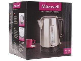 Электрочайник Maxwell MW-1061 серебристый