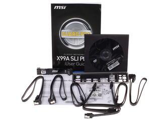Материнская плата MSI X99A SLI PLUS