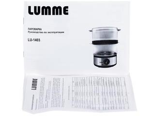 Пароварка Lumme LU-1403 серебристый