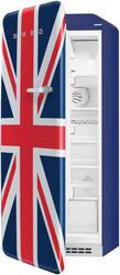 Холодильник с морозильником Премиум Smeg FAB28LUJ1 синий