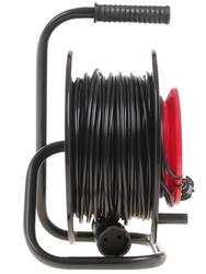 Удлинитель силовой Эра RP-1-2x0.75-30m черный