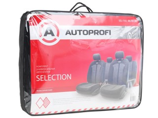 Чехлы на сиденье AUTOPROFI SELECTION SEL-1105 черный