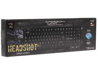 Клавиатура QUMO  Dragon War HeadShot