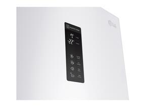 Холодильник с морозильником LG GW-B489SQFZ белый
