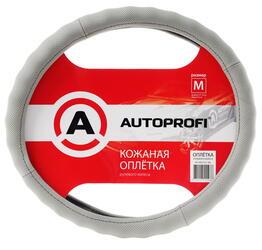 Оплетка на руль AUTOPROFI AP-396 серый