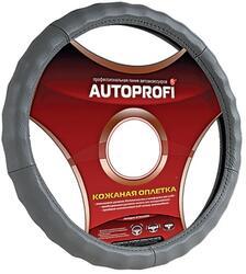 Оплетка на руль AUTOPROFI AP-265 серый