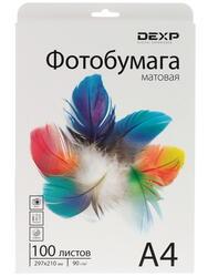Фотобумага DEXP Matt 0805588
