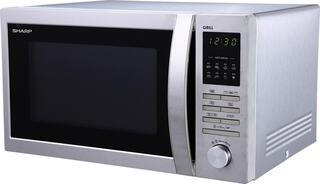 Микроволновая печь Sharp R7496ST серебристый