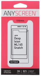 """4.5""""  Пленка защитная для смартфона Dexp Ixion ML145 Snatch"""