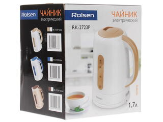 Электрочайник Rolsen RK-2723P белый