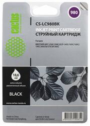 Картридж струйный Cactus CS-LC980BK