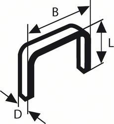 Скобы Bosch 2609200231