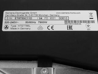 Электрическая варочная поверхность Siemens ET875SC11D
