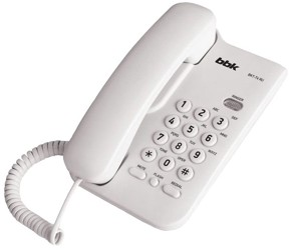 Телефон проводной BBK BKT-74 RU