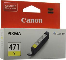 Картридж струйный Canon CLI-471Y