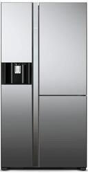Холодильник Hitachi R-M702 AGPU4X MIR серебристый