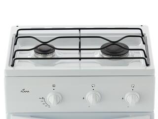 Газовая плита Flama СG 3202 W/B белый