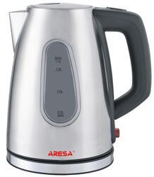 Электрочайник Aresa AR-3406 серебристый