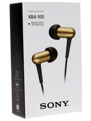 Наушники SONY XBA-100