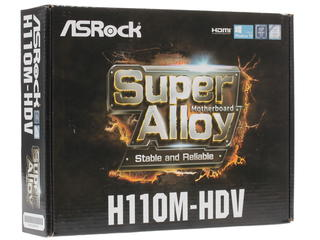 Материнская плата ASRock H110M-HDV