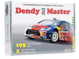 Игровая приставка Dendy Master + 195 различных игр
