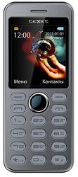 Сотовый телефон Texet TM-D224 серебристый