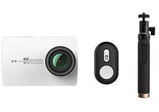 Экшн видеокамера XIAOMI YI 4K Travel белый