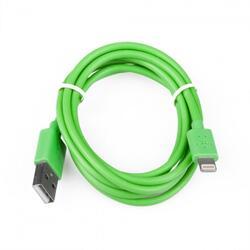 Кабель FinePower FPU8100MPGr Lightning 8-pin - USB зеленый