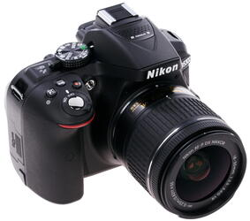 Зеркальная камера Nikon D5300 Kit 18-55mm VR AF-P черный